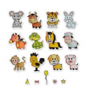 662615 - Sizzix Framelits Die Set 18PK w/Stamps Zodiac Animals